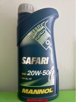 MANNOL SAFARI 20W50