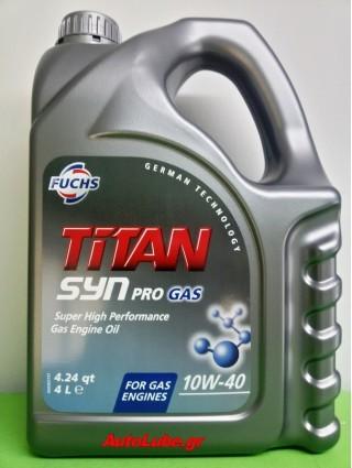 FUCHS TITAN SYN PROGAS 10W40