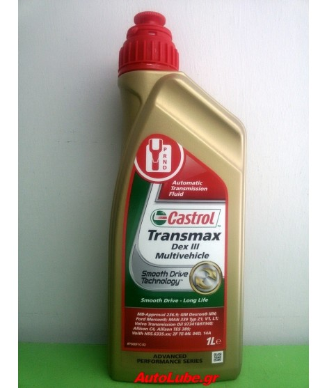CASTROL TRANSMAX DEX III Multivehicle1LT
