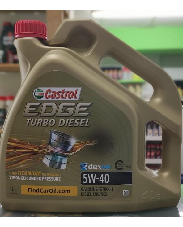 CASTROL TURBO DIESEL 5W40 4L
