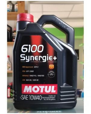 MOTUL 6100 Synergie+ 10W40 5Lt