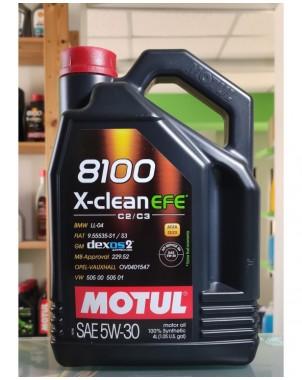 MOTUL 8100 X-CLEAN EFE 5W30 4LT